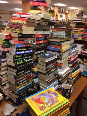 Stack of books Nov 2016